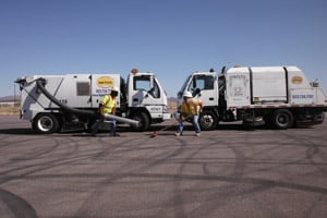 Agua Trucks Power Sweeping